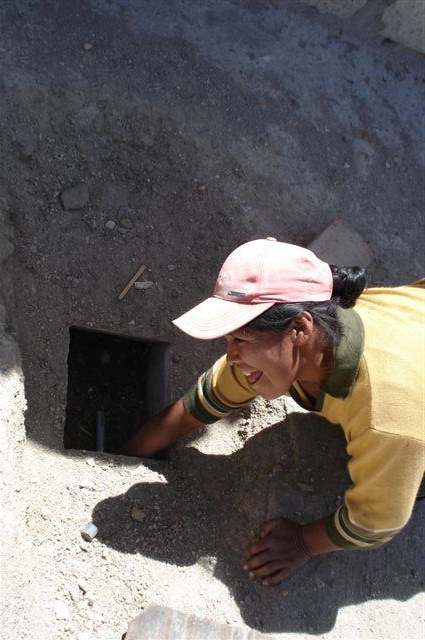 Digging a Water Pipeline in Peru