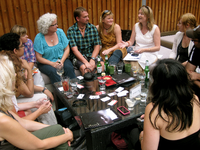 The monthly Travel Tribe meet-up in Toronto