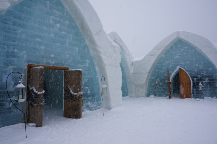 The Ice Hotel in Quebec City