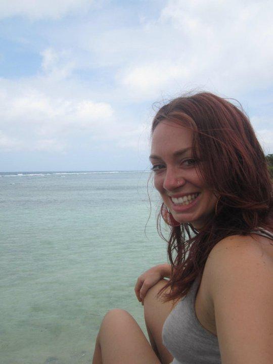 Taking a minute in Gili Trawangan Indonesia to feel the warn ocean breeze across my face