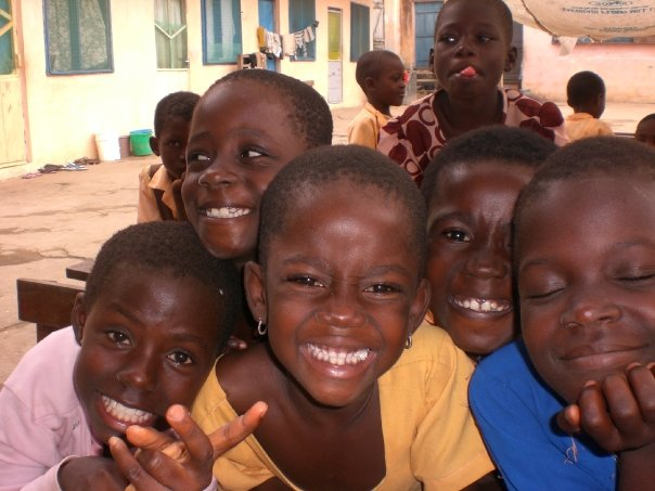 The sounds of children laughing reminds me of my time in Cape Coast, Ghana