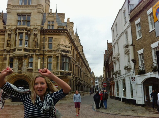 Dancing in the streets of Cambridge