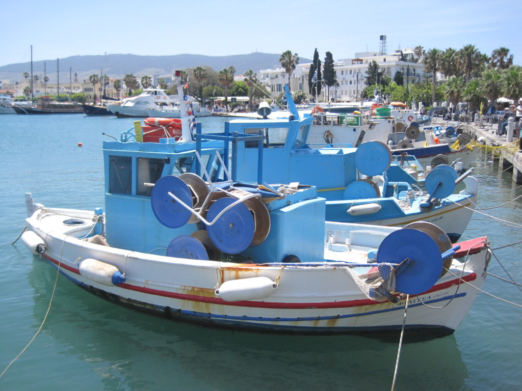 Kos fishing boats