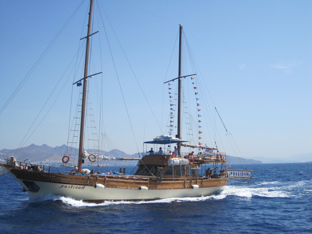 Pirate ship Kos Greece