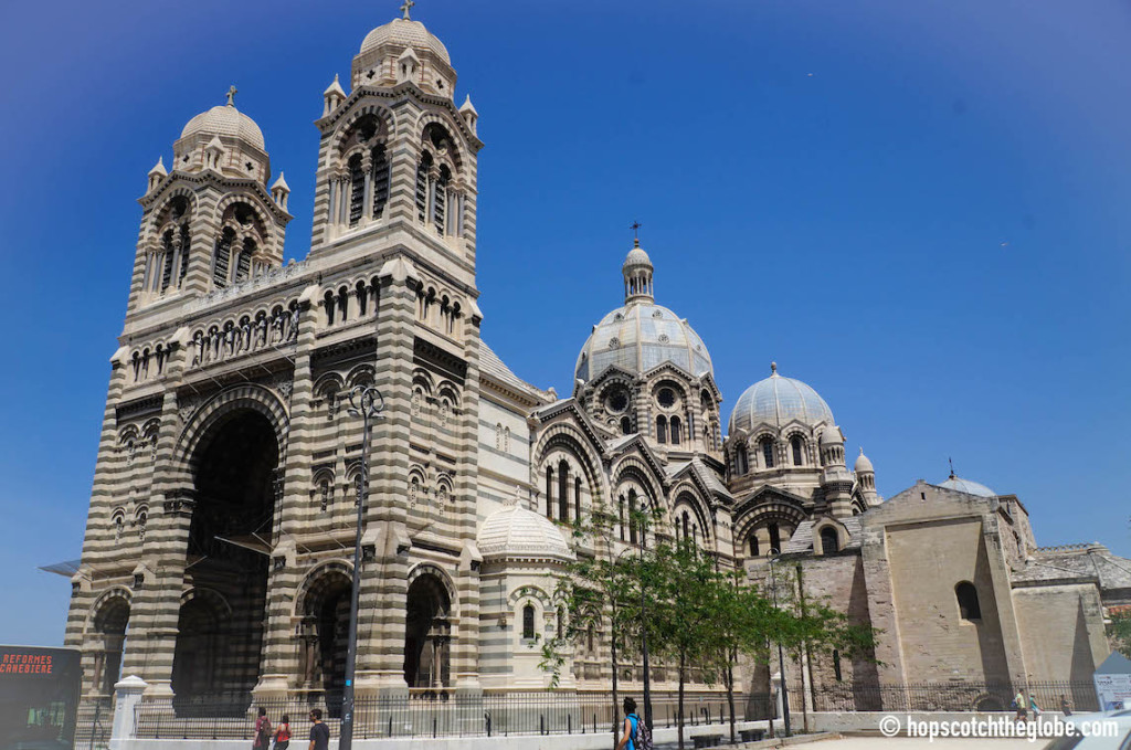 Marseille Cathedral in France