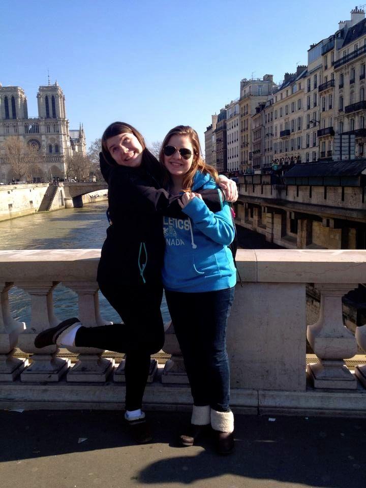 Me, Laura, Notre Dame (1)