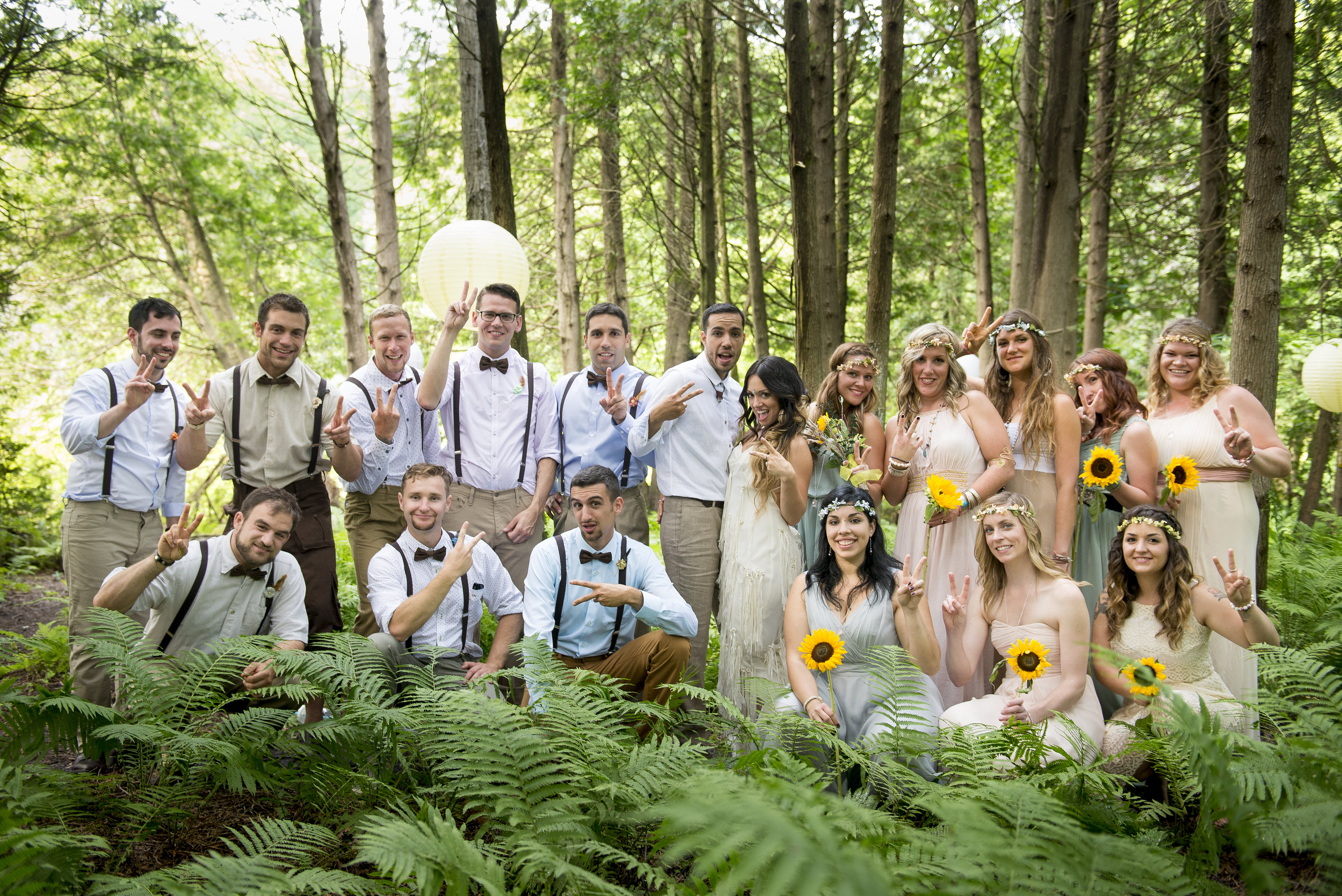 Kristen and Siya's Enchanted Wedding