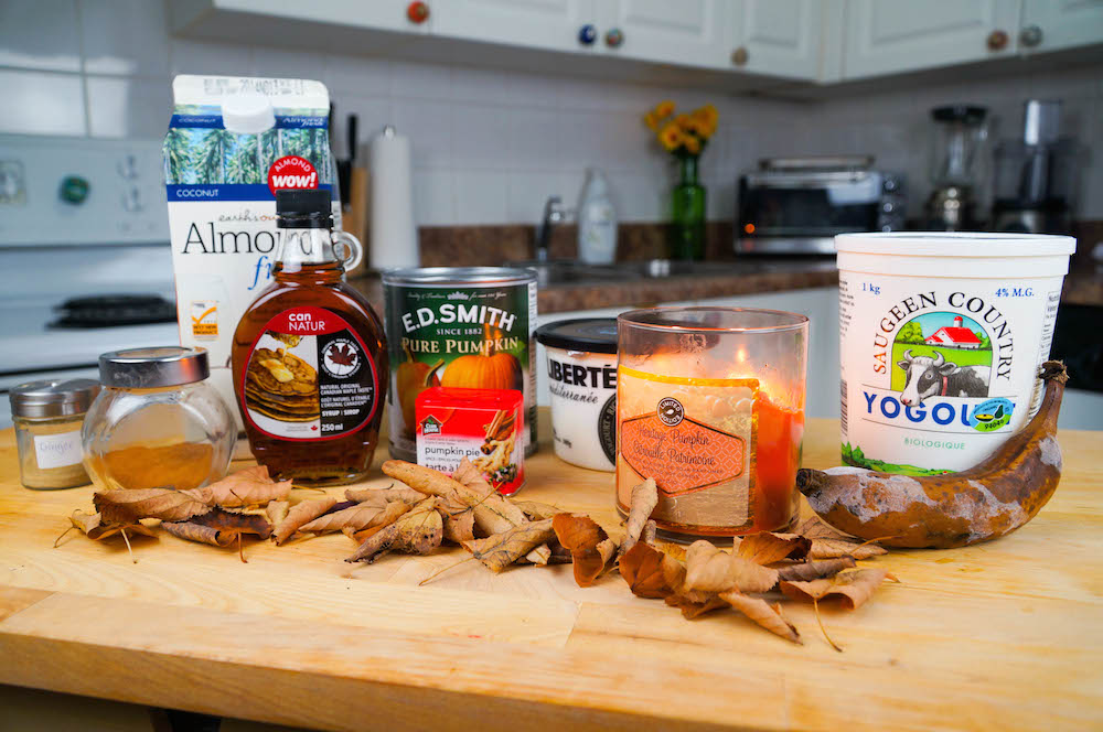 How to Make a Fall Inspired Smoothie: Ingredients