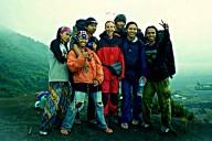 Lash with Javanese trekkers