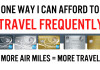 How to Travel Frequently