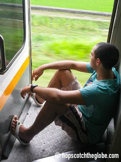 Indonesian Train Ride