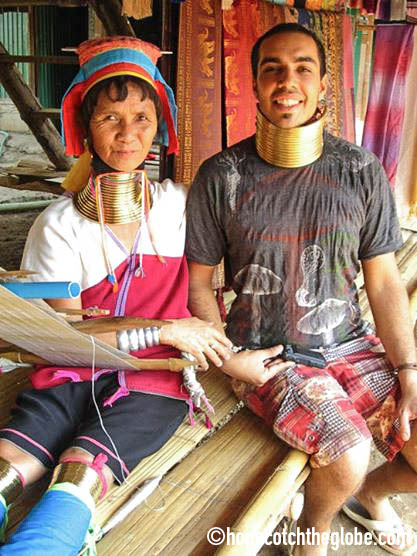Long Neck Tribe in the North of Thailand
