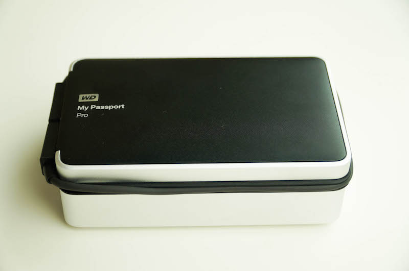 WD My Passport Pro Hard drive