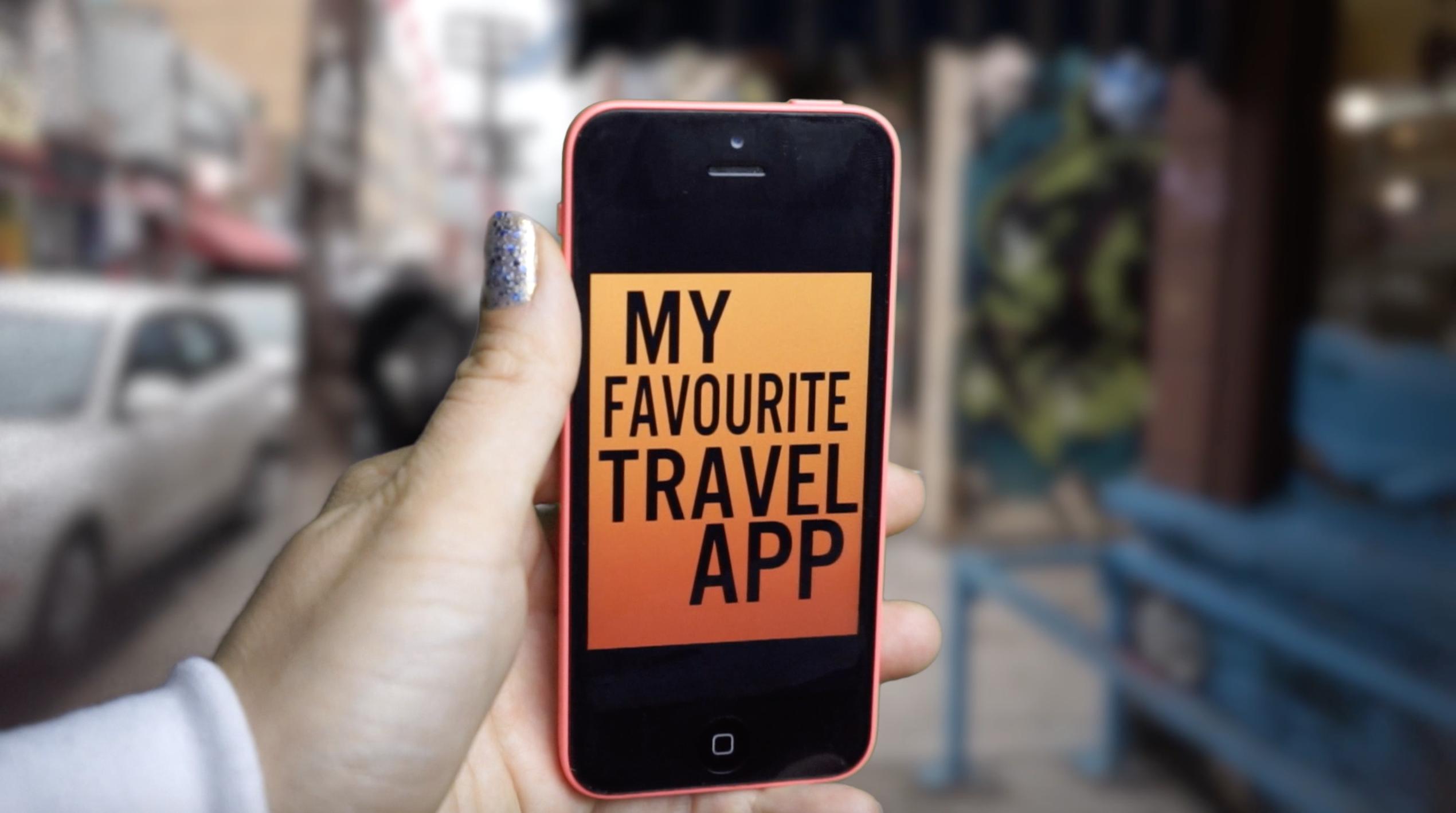 Favourite Travel App