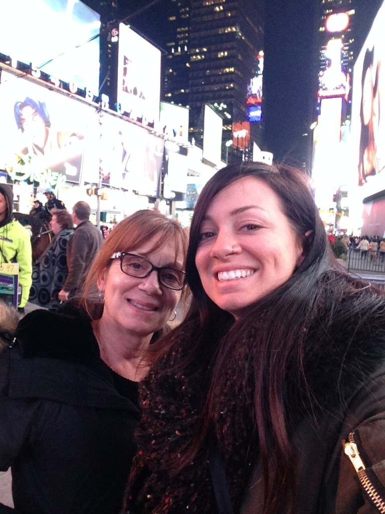 New York City with Mom