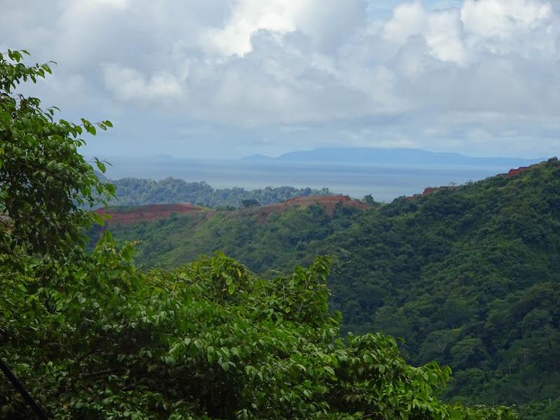 Teleferico View In Costa Rica