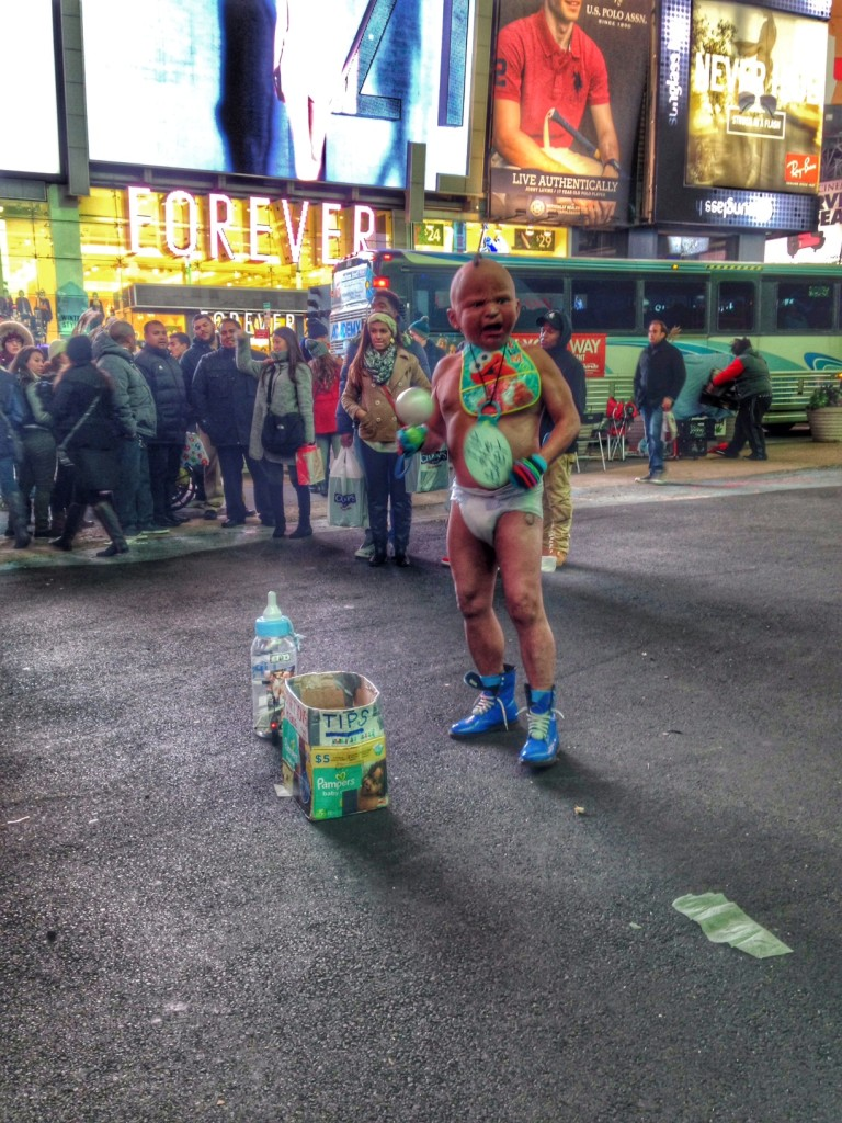 Times Square Dancing Baby