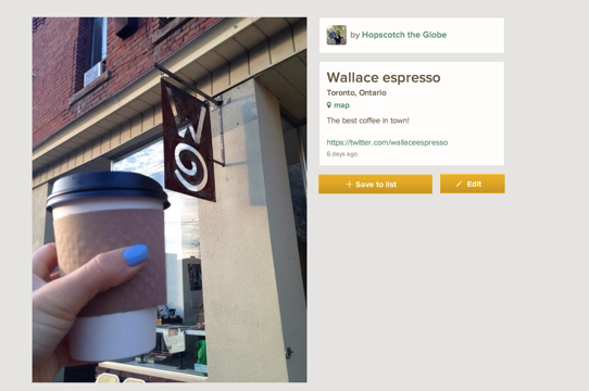 Wallace Expresso Toronto Best Coffee