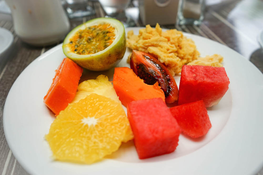 Food at the Royal Decameron Golf Beach Resort and Villas Panama