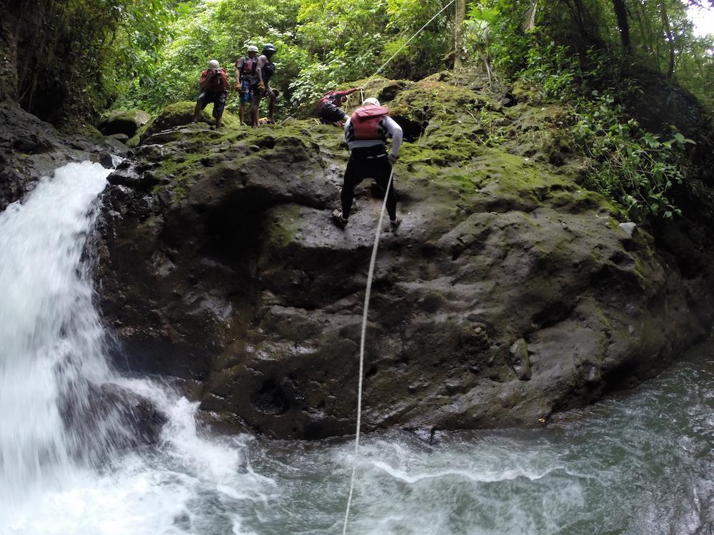 Canyoning Costa Rica Gravity Falls with Desafio Adventure Company