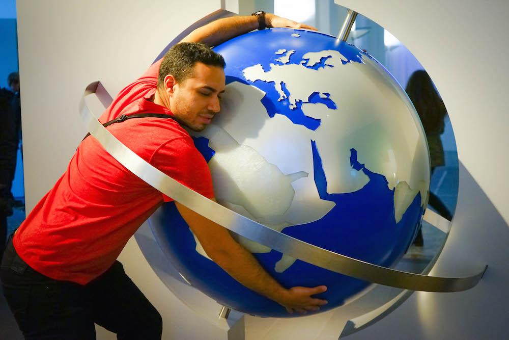 Globe Hugging