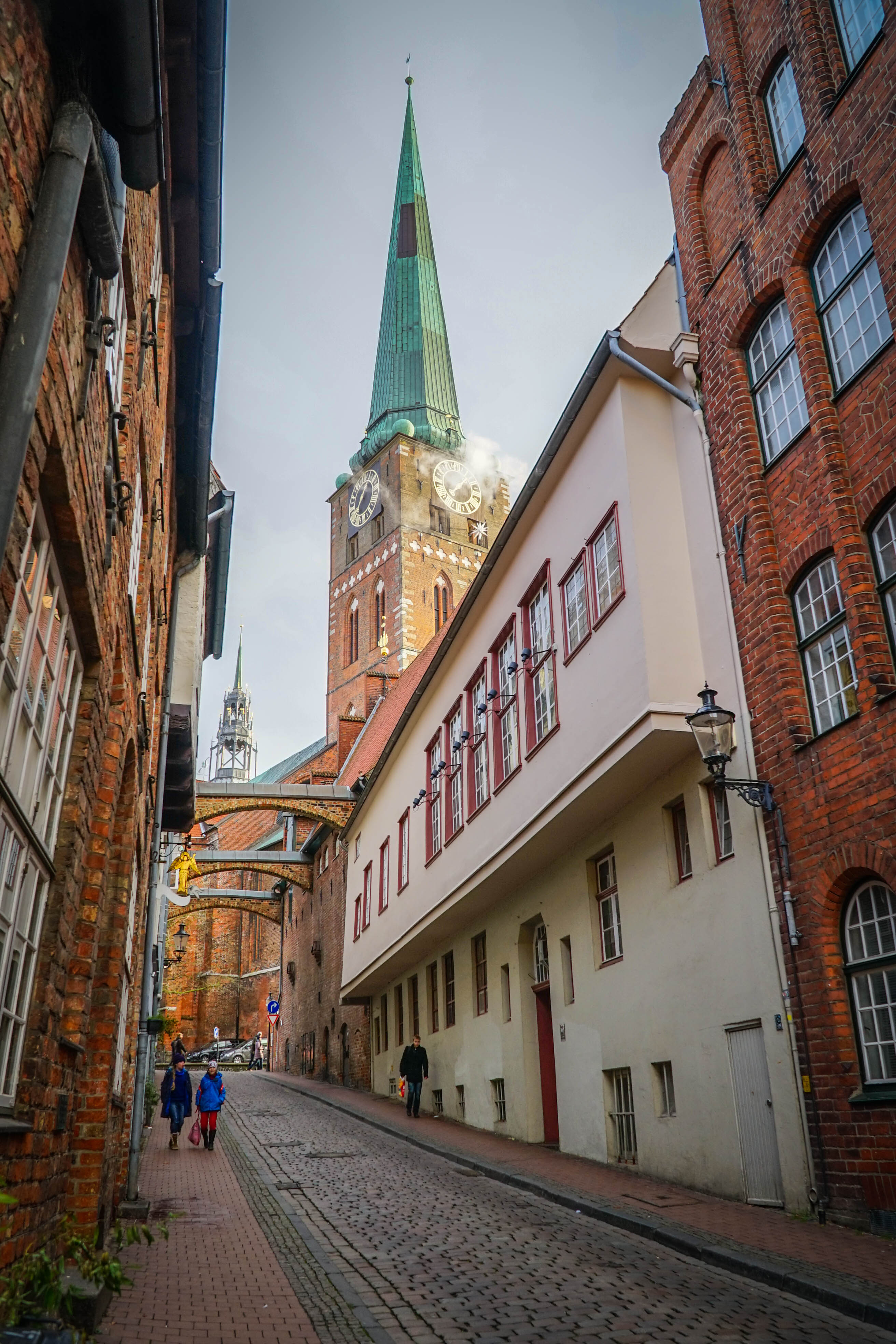 Streets of Lubeck Germany