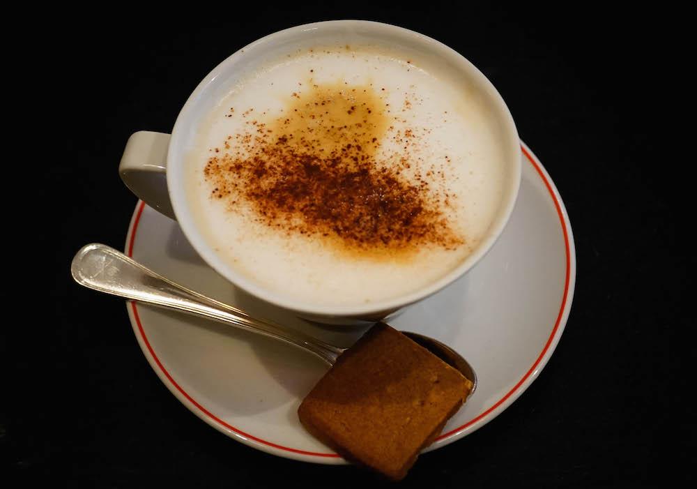 Marzipan Coffee Lubeck