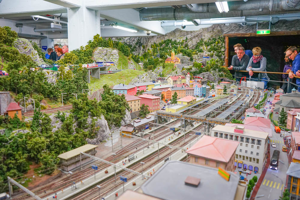 Miniture Railway Cologne Germany