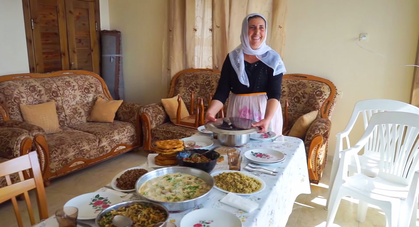Cooking traditional Israeli food in Israel