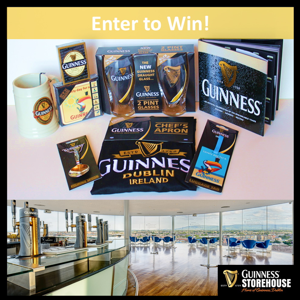 Guiness Storehouse Prize Pack