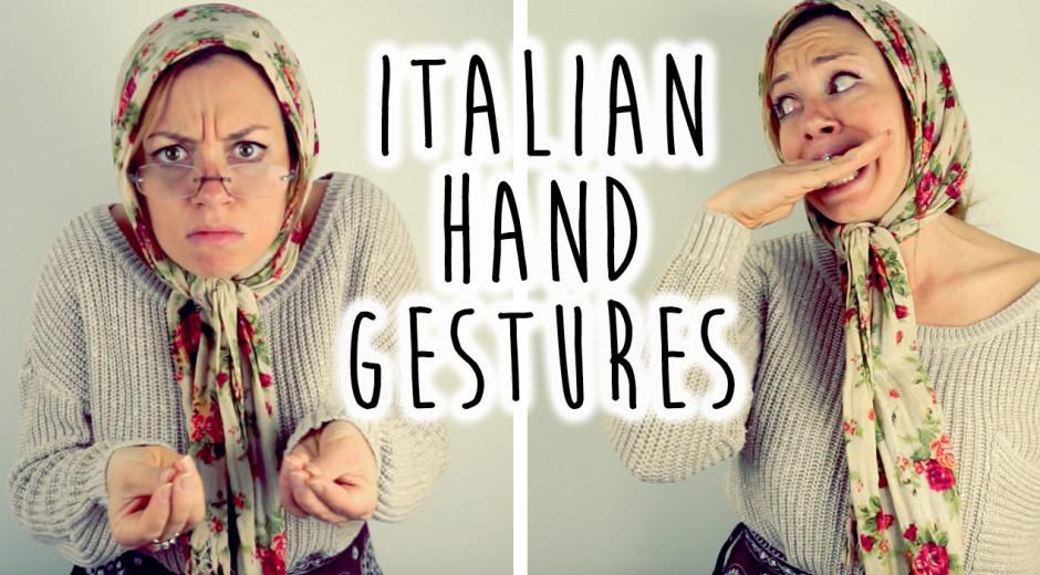 Understanding Italian Hand Gestures
