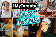 Drunk History Toronto. Exploring different bars and breweries in Toronto with GetYourGuide and Urband Adventure on the Beer Makes History Better Tour.