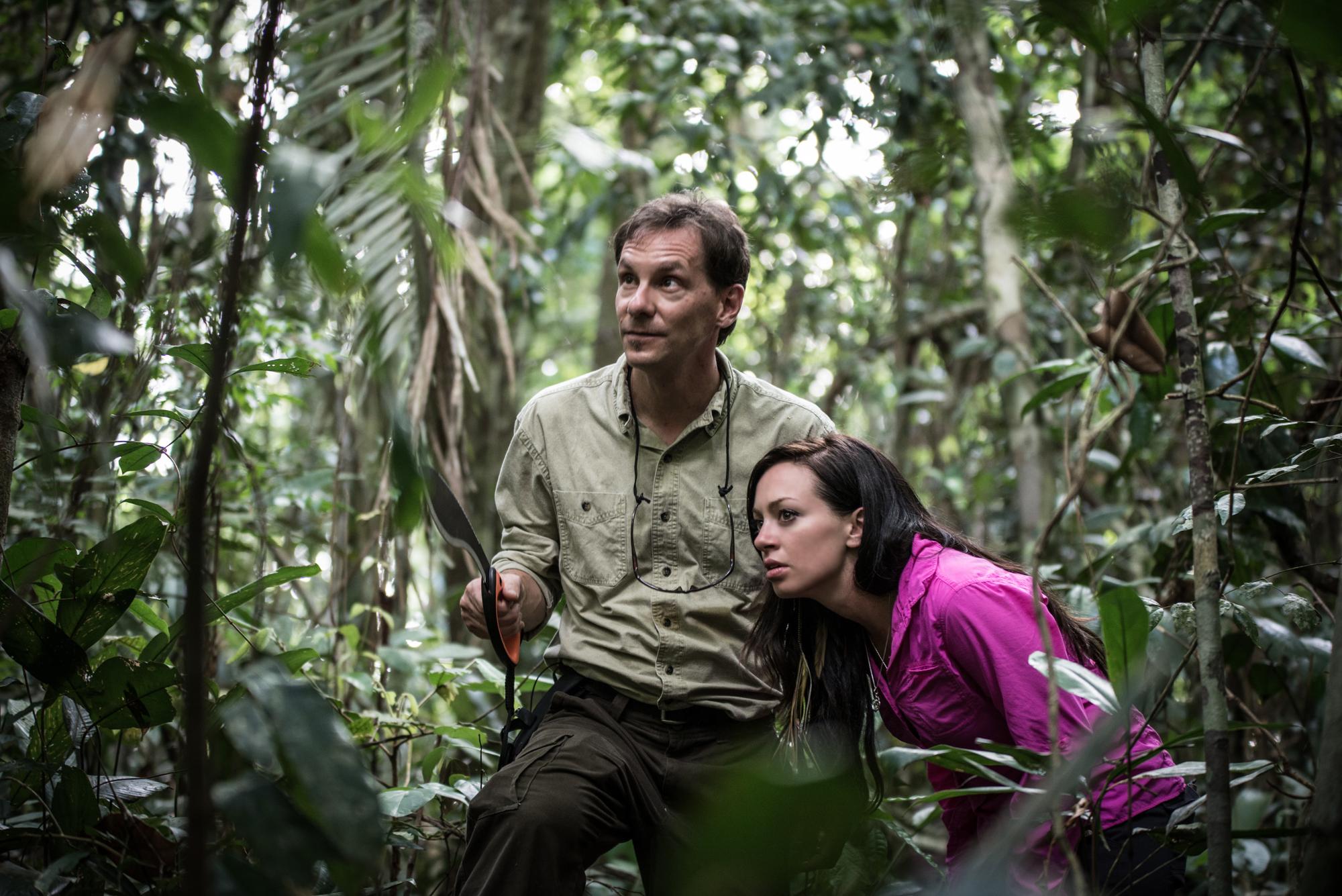 Kristen Sarah on Angry Planet Brazil Amazon