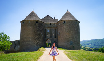 Castles of Burgundy France