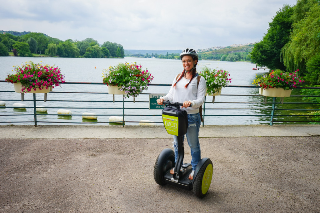 Segway riding in Dijon, France