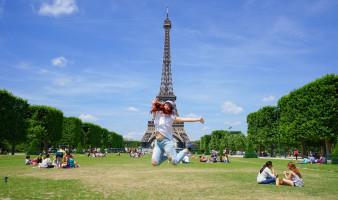 Eiffel Tower Jump