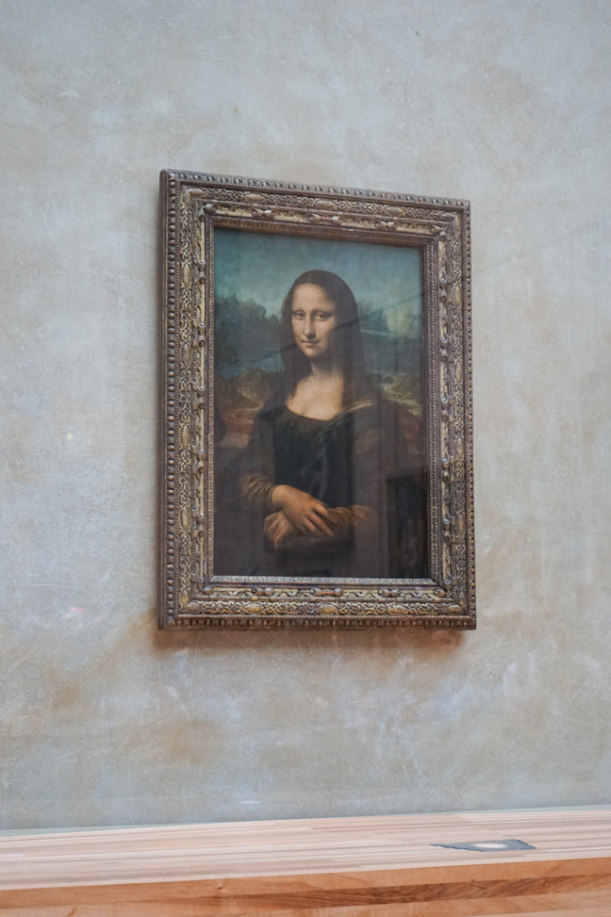 Mona Lisa at the Louvre