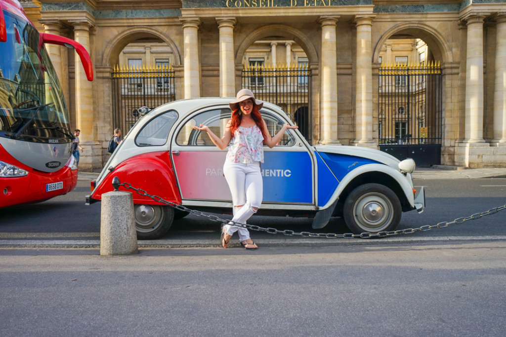 Paris: Illuminations in a Vintage Citroen 2CV with GetYourGuide