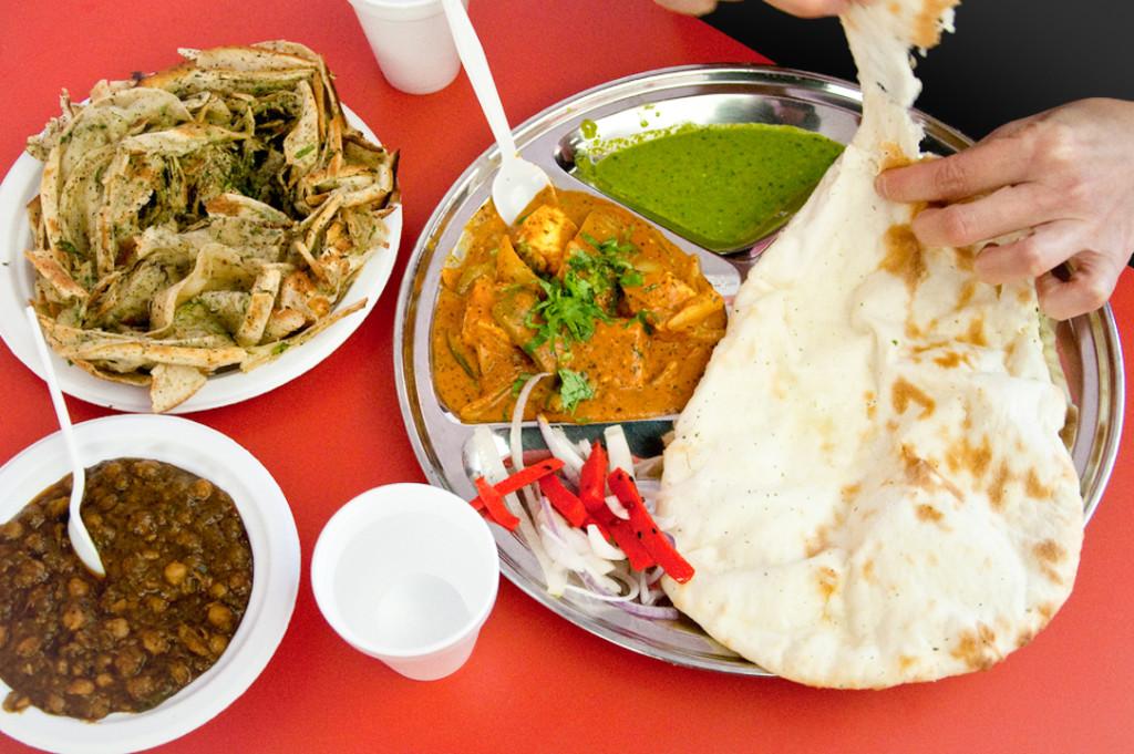 Indian Vegetable Thali