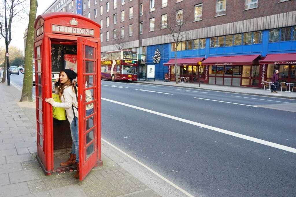 London England Phone Booth