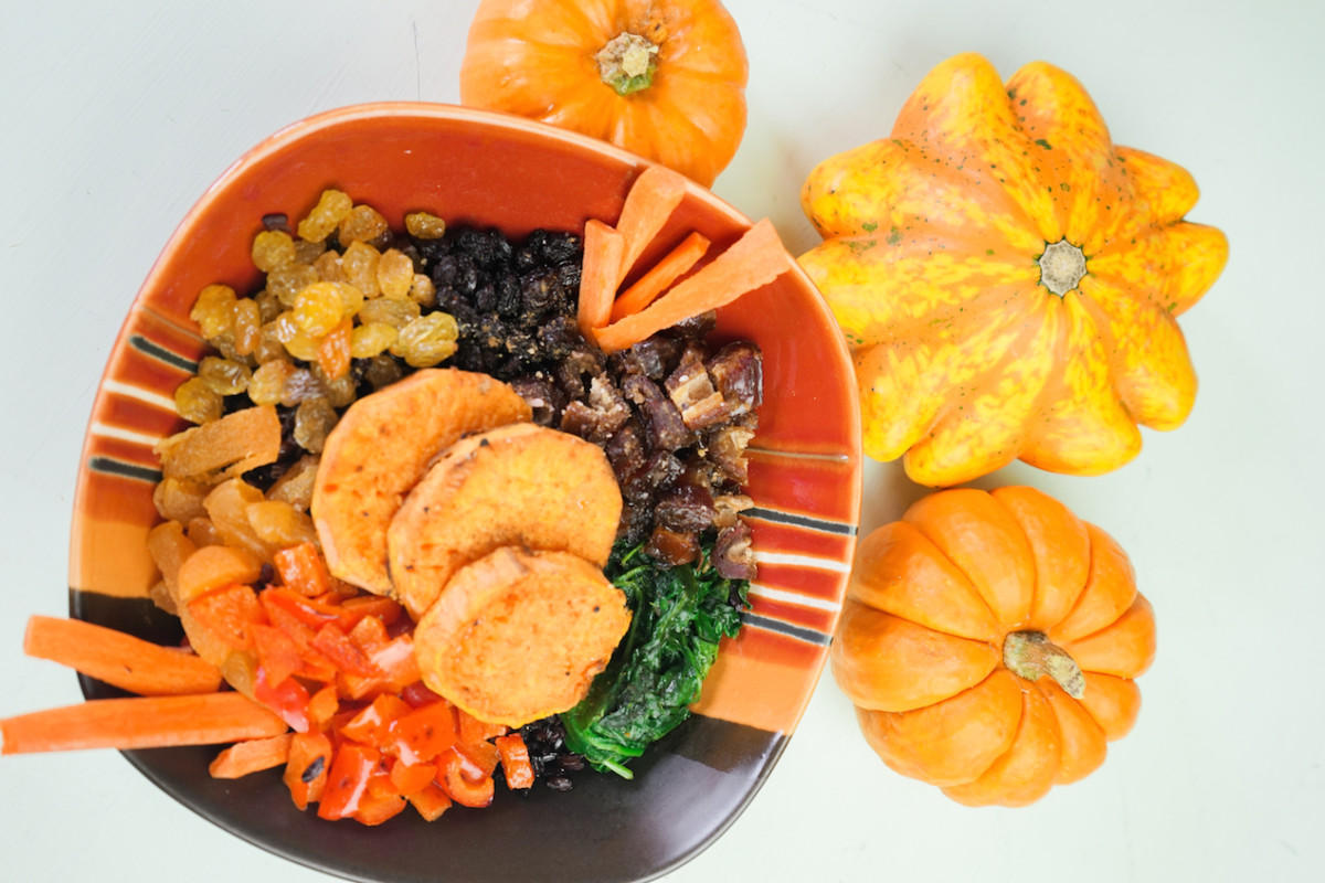 Autumn Vegan Glow Bowl