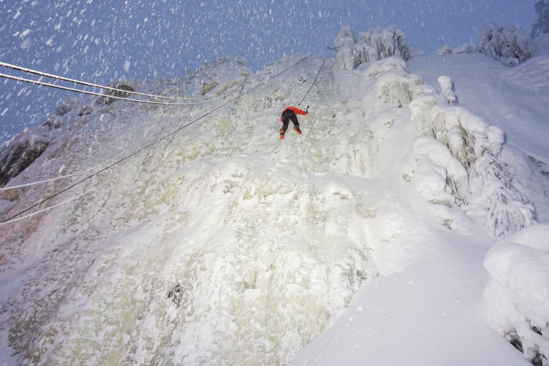 Ice Climbing Finland