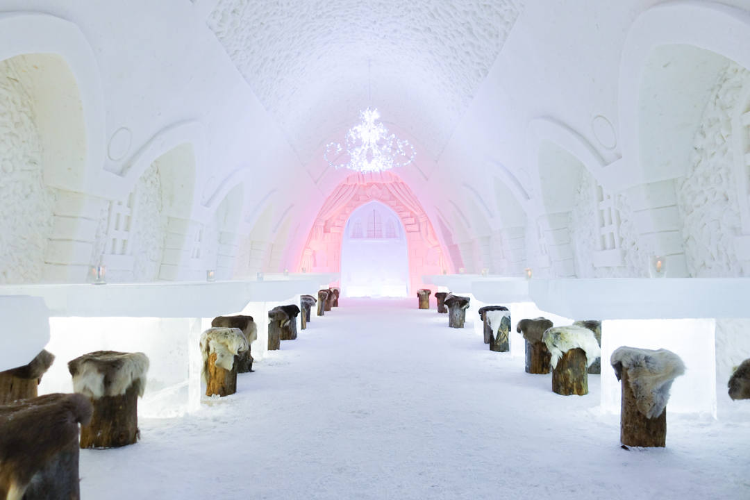 Snow Castle Restaurant Finland