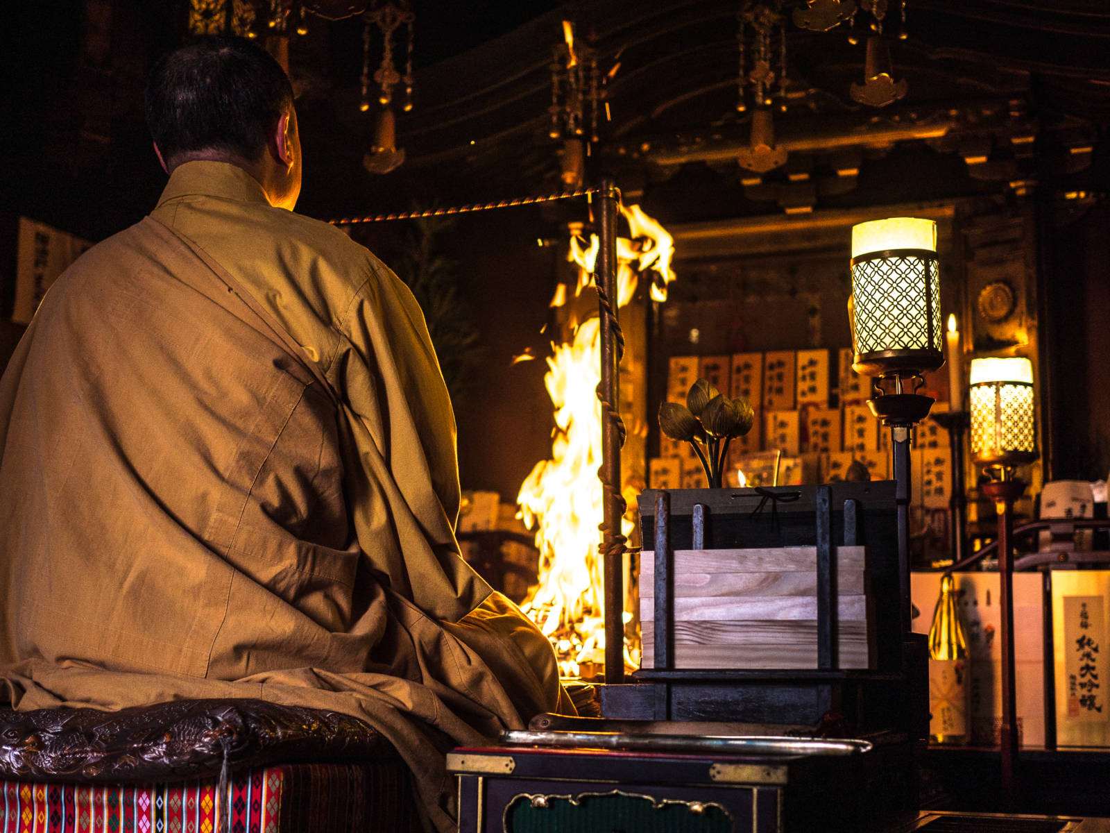 This Japanese Idiom Will Change the Way You Travel Forever - Japanese Fire Ritual