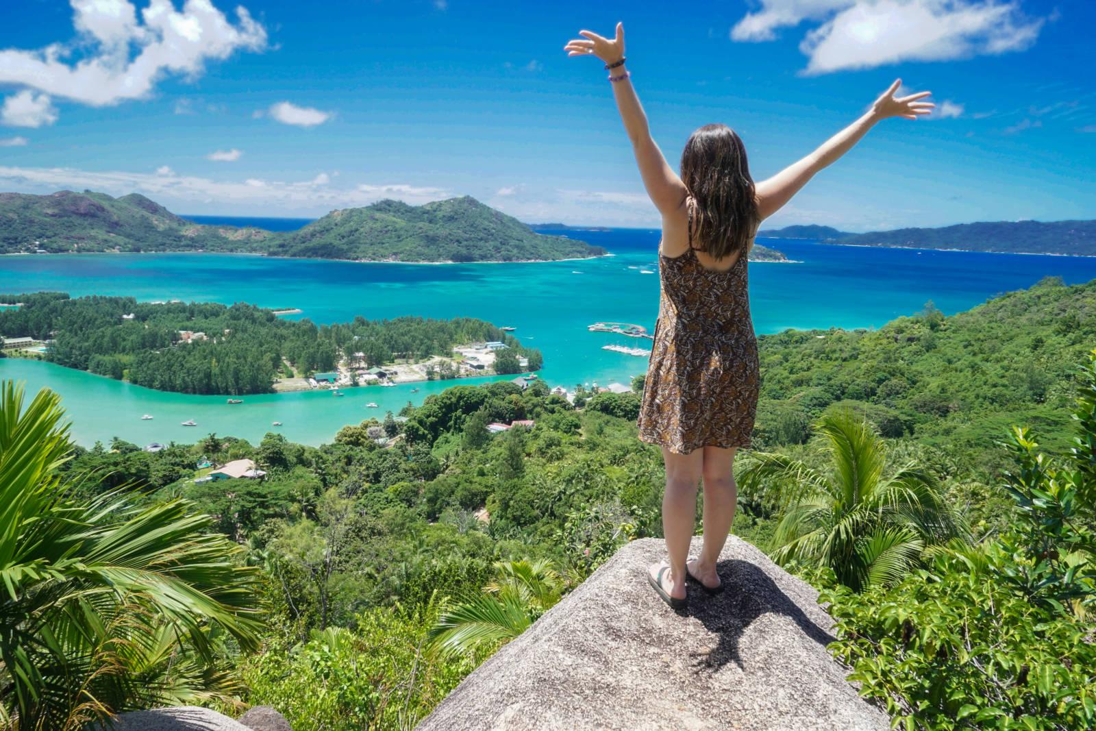 Prasline Island Seychelles