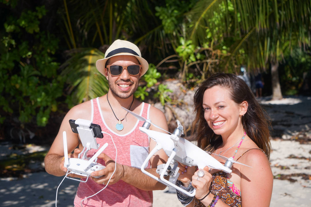 Flying the DJI Phantom 4 in Seychelles
