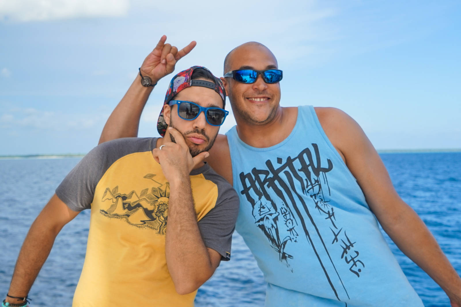 Siya Zarrabi in Dominican Republic Making Friends with Locals
