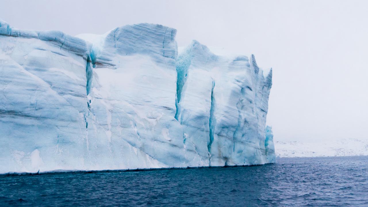 Massive Iceberg Greenland