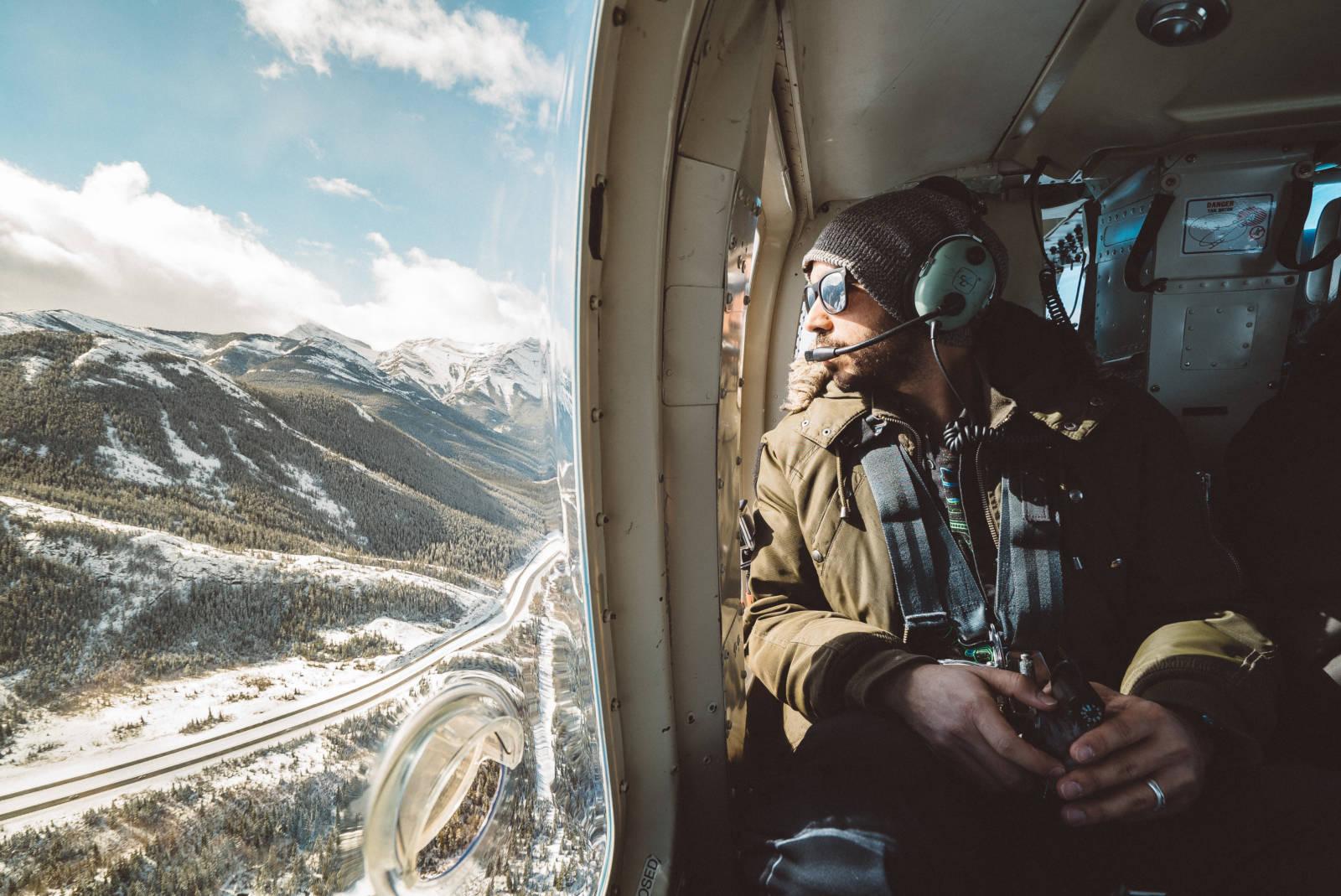 Siya Helicopter Banff