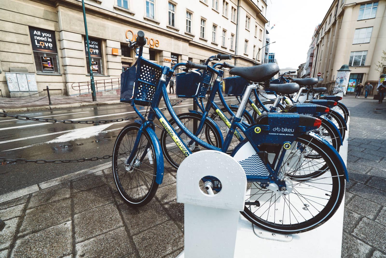 Exploring Krakow by Bike